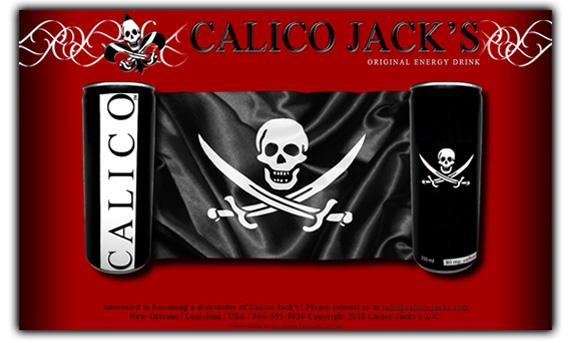 Calico Jacks Energy Drink