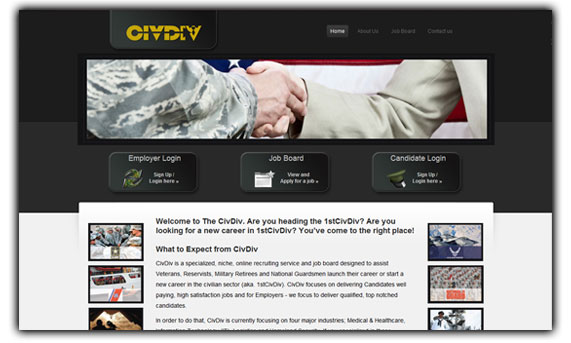 The Civ Div - Online Military Recruiting Service