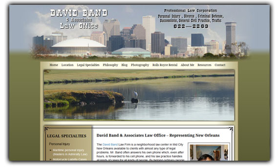 David Band - New Orleans Attorney
