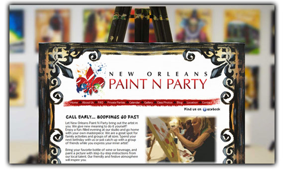 New Orleans Paint N Party